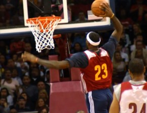 Cavs' Big 3 Play Together In First Scrimmage