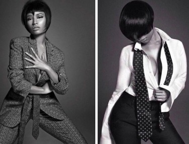 Nicki Minaj For L'Uomo Vogue
