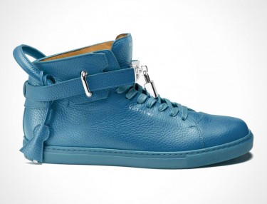 Buscemi 100mm High-Top Blue