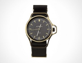 Givenchy Seventeen Watch In Black/Gold