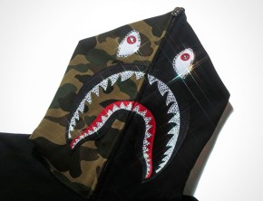 BAPE Shark Hoodie 10th Anniversary Collection