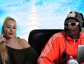 Iggy Azalea and Snoop Dogg