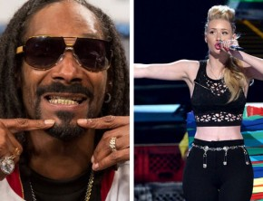 Snoop Dogg and Iggy Azalea