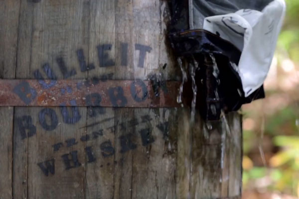 Noble Denim x Bulleit - Burbon Barrel Aged Jeans