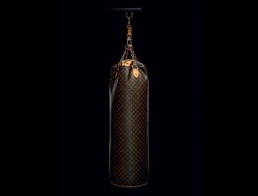 Karl Lagerfeld x Louis Vuitton Punching Bag