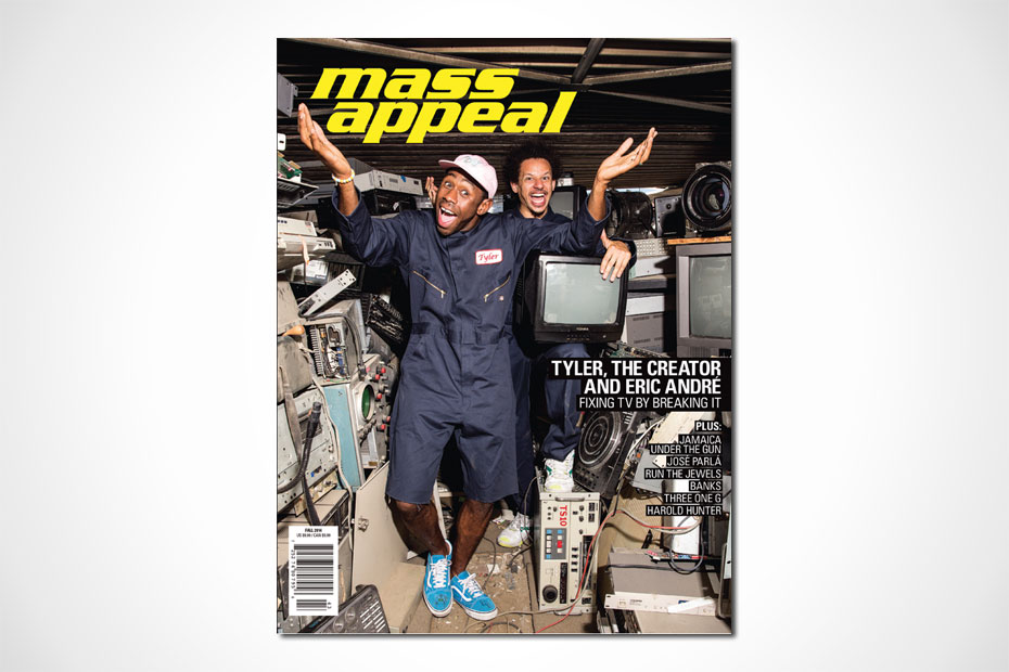 Tyler The Creator - Mass Appeal Issue #55