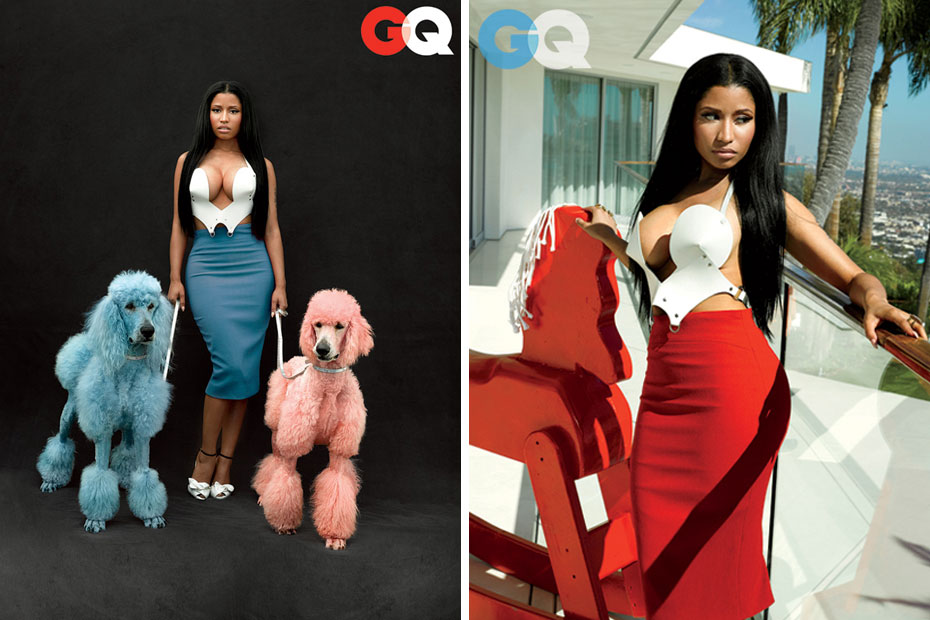 Nicki Minaj - GQ - Nov. 2014