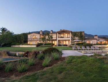 Lady Gaga's Malibu Mansion