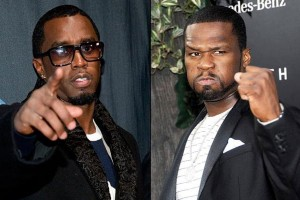 Diddy and 50 Cent