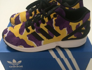 Adidas Originals ZX Flux - LA Lakers