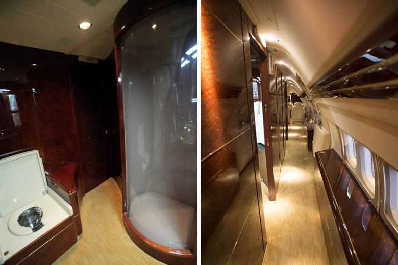 Inside Donald Trump39s 100M Private Jumbo Jet  BallerStatus