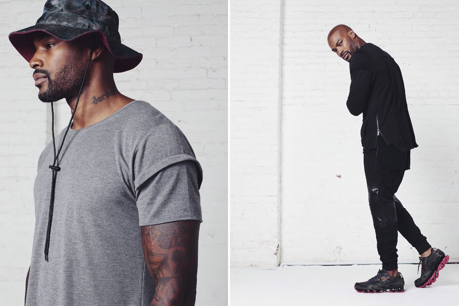 Entree LS UNKNOWN Holiday '14 collection featuring Tyson Beckford