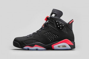 Jordan 6 Retro 'Black Infrared'