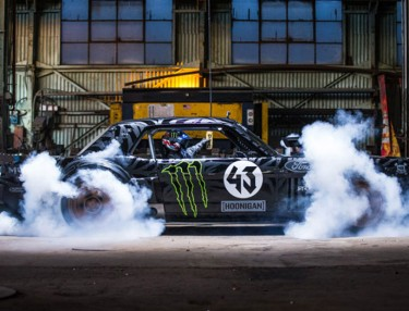 Ken Block Tears Up L.A. Streets In Custom '65 Mustang