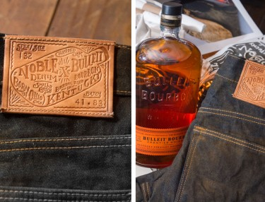 Bulleit Bourbon x Noble Denim 'Barrel Aged Jeans' Unveiling