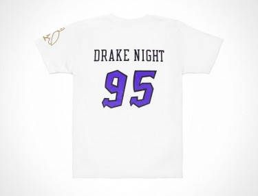 OVO x Raptors Limited Drake Night T-Shirt