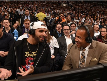 Drake Puts On For Toronto Raptors For Drake Night