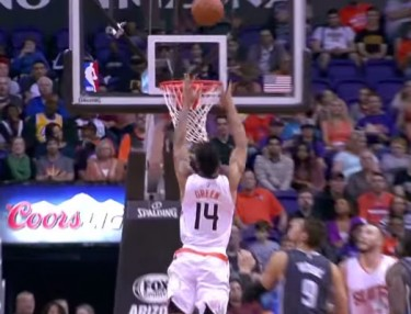 NBA Highlights: Suns' Gerald Green Alley-Oops Off Backboard