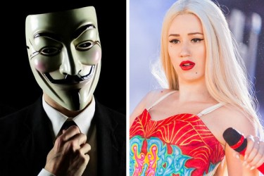 Iggy Azalea vs Anonymous