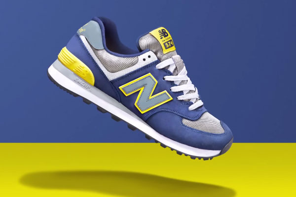 New Balance 574 Trainer Speed Painting By JD Sports