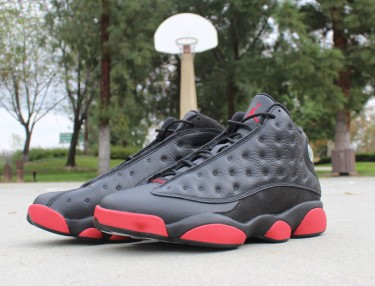 Air Jordan 13 Retro - Black / Gym Red