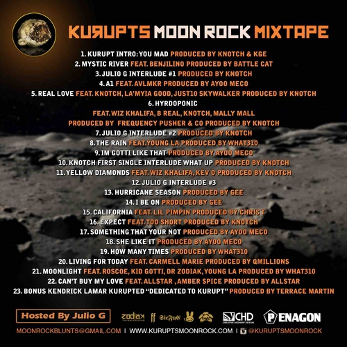Kurupt - Kurupt's Moon Rock (Mixtape)