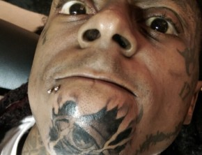 Lil Wayne's new face tattoos