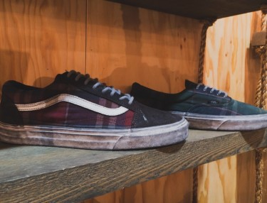 Sneak Peek At Vans CA Fall 2015 Overwashed Plaid Pack