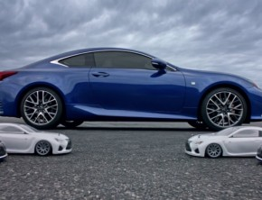 Lexus Previews Super Bowl RC Drifting Commercial