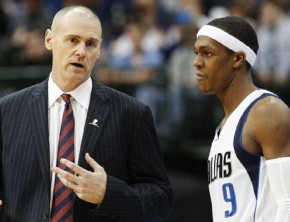 Rajon Rondo on the Dallas Mavs
