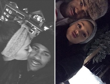 Ariana Grande, Big Sean Vacation In Lake Tahoe