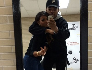 Chance The Rapper and Christina Milian