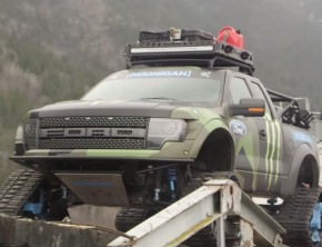 Ken Block Offers Tour Of His Ford F-150 RaptorTRAX