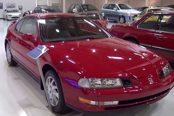 A Tour Of Honda's Collection Hall, Dubbed The Secret Museum