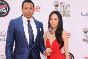 Terrence Howard and wife Miranda