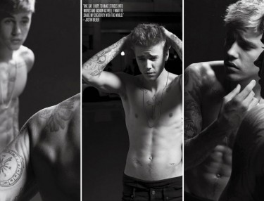 Justin Bieber For V Magazine By Karl Lagerfeld