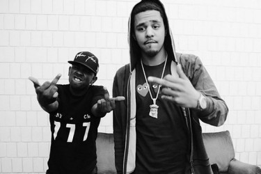Kendrick Lamar and J. Cole