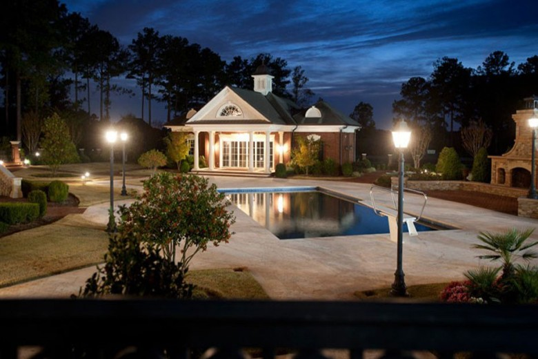 Inside The Rose Hill Estate (Suwanee, Georgia)