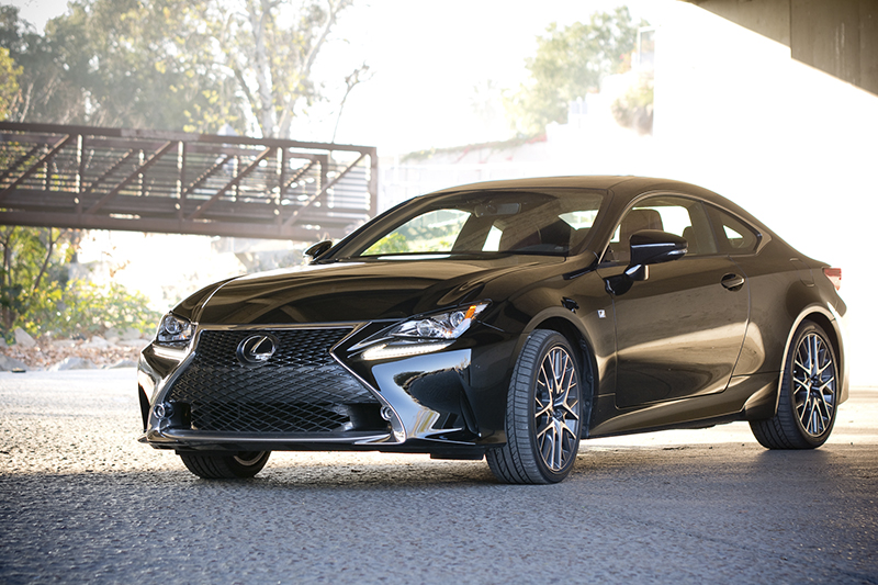 a closer look at the 2015 lexus rc 350 f sport. Black Bedroom Furniture Sets. Home Design Ideas