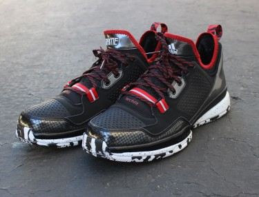 Adidas Lillard 1 'Black/Red'
