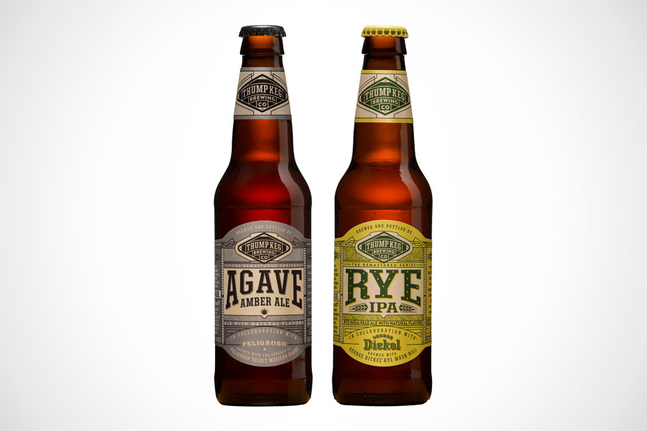 Thump Keg Brewing Co. Introduces Agave Amber Ale & Rye IPA
