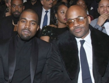 Damon Dash and Kanye West