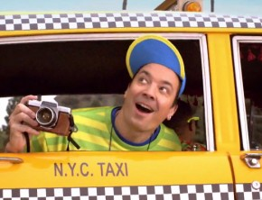 Jimmy Fallon Spoofs 'Fresh Prince' Opening Sequence