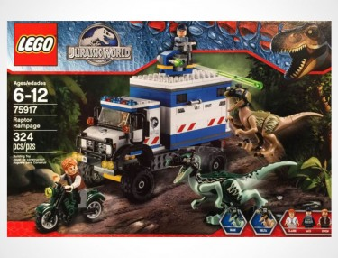 LEGO x Jurassic World 'Raptor Rampage' Set