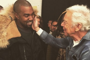 Kanye West and Ralph Lauren