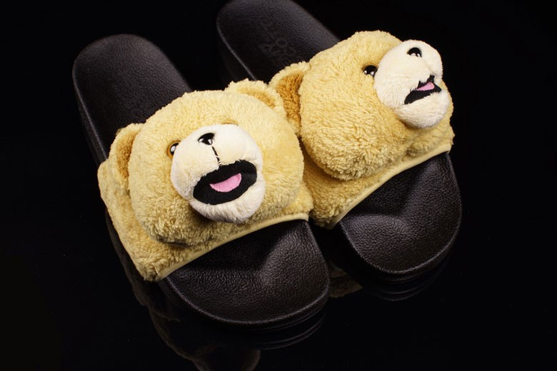 Adidas Originals x Jeremy Scott Teddy Bear Sandals