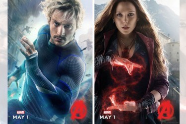Scarlet Witch, Quicksilver 'Avengers: Age Of Ultron' Posters