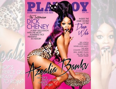 Azealia Banks Covers Playboy's April Issue