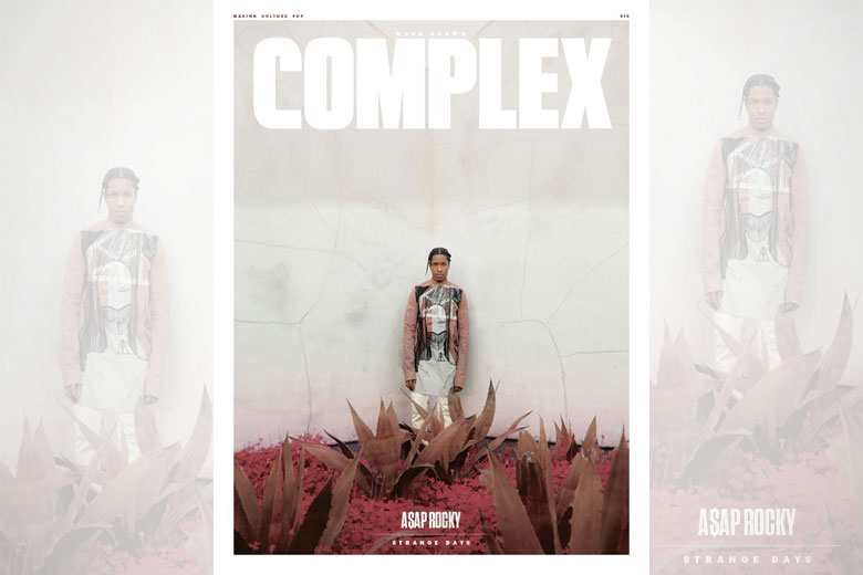 A$AP Rocky covers April/May issue of Complex
