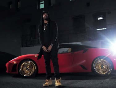 Chevy Woods - Gold Chainz Gold Daytons (Video)